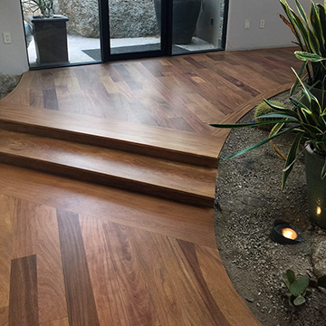Solid Hardwood Flooring in Scottsdale